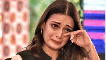 Dia Mirza breaks into tears