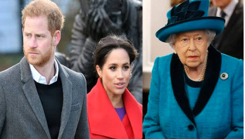 Harry, Meghan give up royal titles