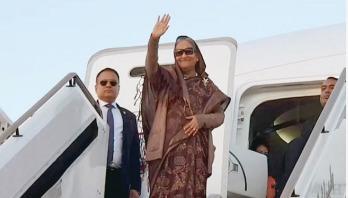 Prime Minister leaves Abu Dhabi for home