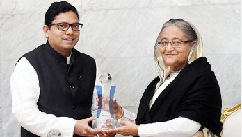 'ASOCIO Award' handed over to Prime Minister Sheikh Hasina