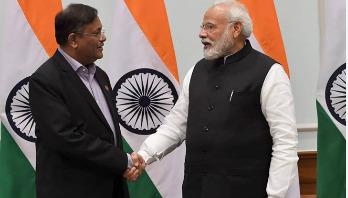 Info minister meets Modi
