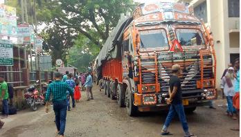 Export, import resumes at Hili land port