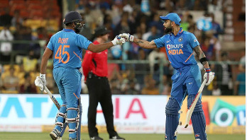 Rohit, Kohli punish Aussie stars as India win series