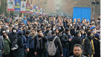 New protests as Iran makes first arrests over downed airliner