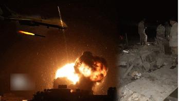 Air strikes again targeting Iraq kill six