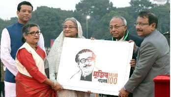 Countdown to Bangabandhu's birth centenary begins