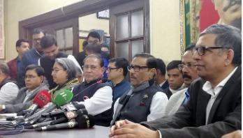 'BNP gathering outsiders in Dhaka'