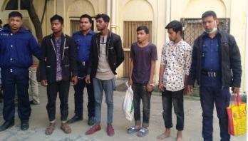 Four Gazipur rapists sent to jail