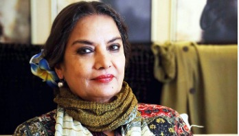 Shabana Azmi returns home