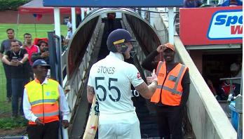 Stokes apologises for 'unprofessional reaction'