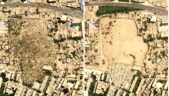 Uyghur graveyards demolished, satellite images show