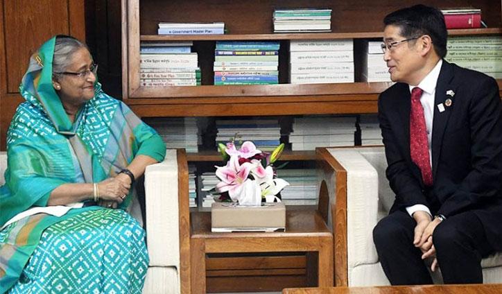 'Japan ready to help Bangladesh solve Rohingya crisis'