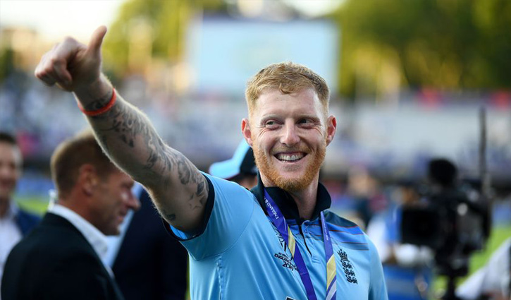 Ben Stokes named men's cricketer of the year