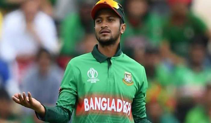 Shakib not in ICC Test and ODI teams of the year