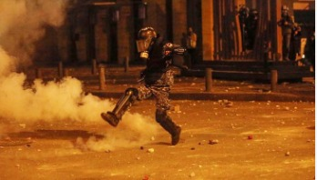 400 Lebanese protesters injured in clashes with police