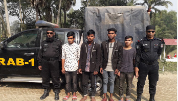 4 held over rape charges from Gazipur