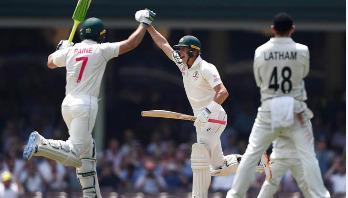 Labuschagne hits century for hosts