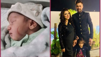 Amir becomes father of second child
