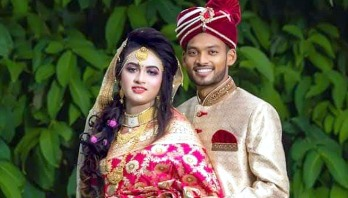 Cricketer Shanto weds his girlfriend after 4 years of dating