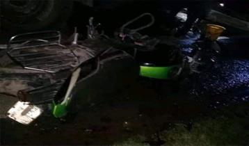 তালায় সড়ক দুর্ঘটনায় মোটরসাইকেলের চালকসহ নিহত ২