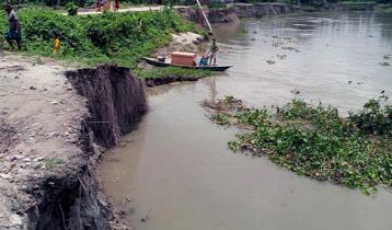 দুধকুমারের ভাঙন: নিচিহ্নের পথে দুটি গ্রাম