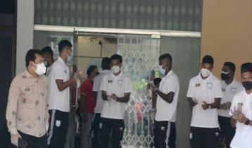 জাতীয় দলের আরও ৫ ফুটবলারের করোনা পজিটিভ