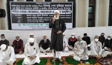 'বঙ্গবন্ধু প্রথম আইন করে মদ-জুয়া নিষিদ্ধ করেন'