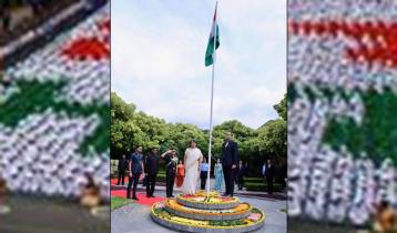 ঢাকায় ভারতের ৭৪তম স্বাধীনতা দিবস উদযাপন