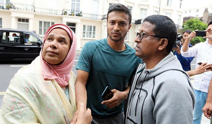 Shakib's mother tests positive for Covid-19