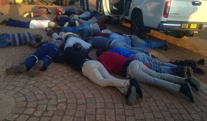 South African church attack leaves 5 dead