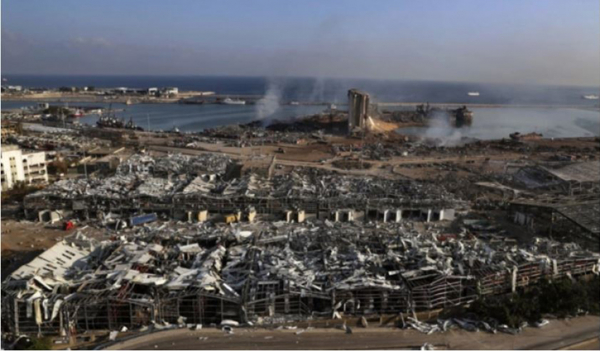 Beirut blast renders 3 lakh people homeless