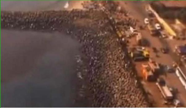 740 tonnes of explosive chemical near Chennai