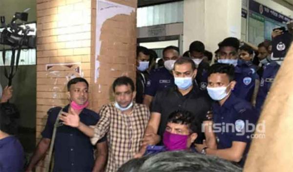 Sinha murder case: OC Pradeep among 3 put on remand