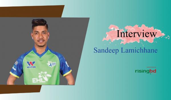 Sandeep Lamichhane—the 'Gully Boy'