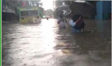 Rain causes waterlogging in Mumbai, red alert issued