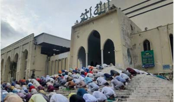 Six Eid Jamaats held at Baitul Mukarram mosque
