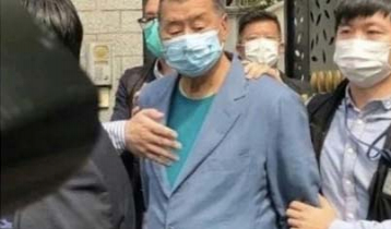 Hong Kong media mogul arrested