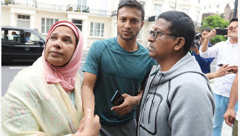 Shakib`s father tests coronavirus positive