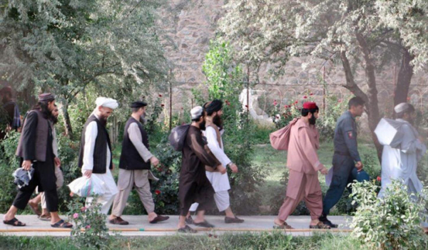 ৮০ তালেবানকে মুক্তি দিলো আফগান সরকার