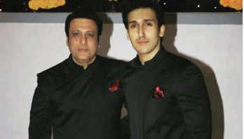 Govinda's son meets with car accident