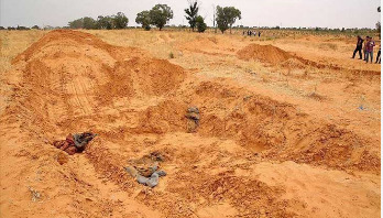 190 bodies discovered from mass graves in Libya