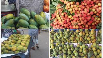 ঢাকায় মৌসুমি ফলের চাহিদা বেশি, দামও কম
