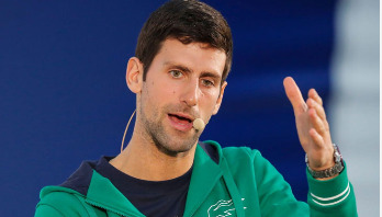 Novak Djokovic tests positive for coronavirus