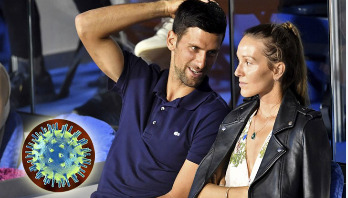 Djokovic, his wife test coronavirus negative