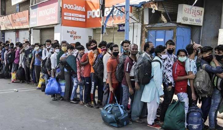 করোনায় আক্রান্ত ১ লাখ ৯৮ হাজারের বেশি ভারতীয়