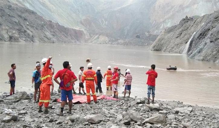 50 killed in landslide at Myanmar mine