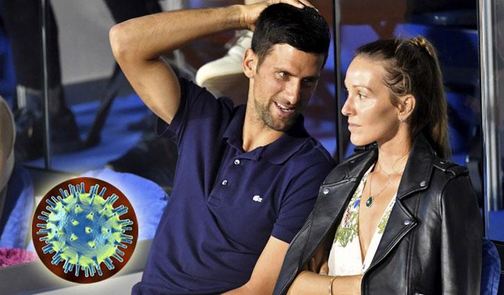 Djokovic, his wife test coronavirus negative