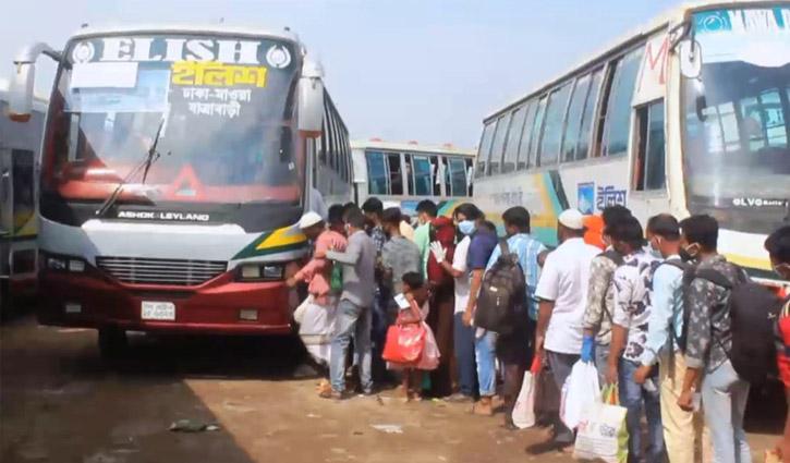 মুন্সীগঞ্জের শিমুলিয়া-কাঠালবাড়ী নৌরুটে যান চলাচল স্বাভাবিক