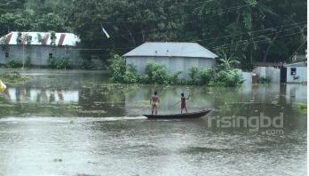 Jamuna water level rises, 1,59,000 people marooned in Sirajganj