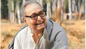 Soumitra Chatterjee returns to shooting soon